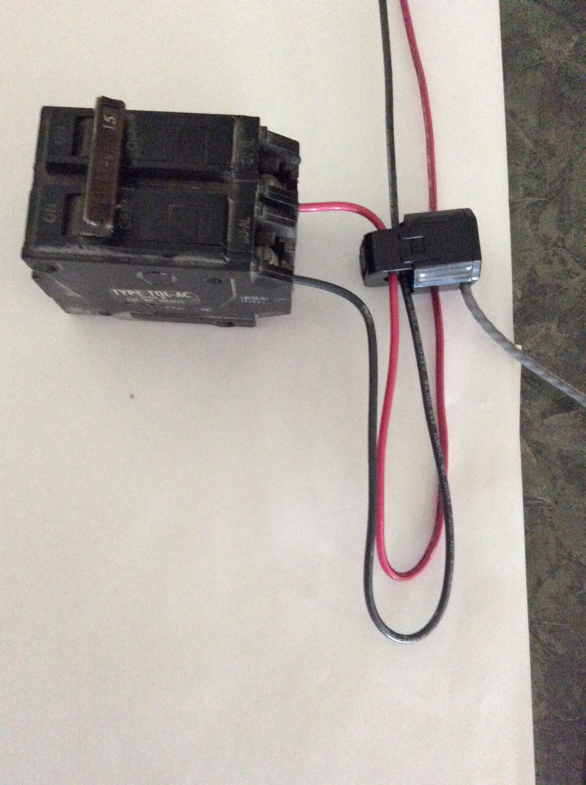 Ct Sensor Amps Questions Iotawatt User Community Wiring An Outlet Backwards This Is Common Practice Among Many Electricians I Bring It Up Because Really Facilitates Connecting A To 240v Circuit With One Conductor Reversed